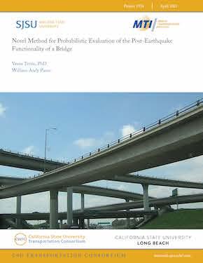 Novel Method for Probabilistic Evaluation of the Post-Earthquake Functionality of a Bridge