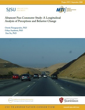 Altamont Pass Commuter Study: A Longitudinal Analysis of Perceptions and Behavior Change