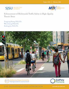 Enhancement of Multimodal Traffic Safety in High-Quality Transit Areas