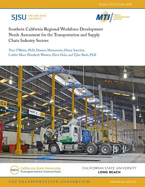 Southern California Regional Workforce Development Needs Assessment for the Transportation and Supply Chain Industry Sectors