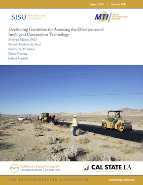 Developing Guidelines for Assessing the Effectiveness of Intelligent Compaction Technology