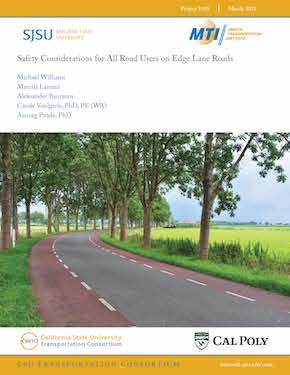 Safety Considerations for All Road Users on Edge Lane Roads