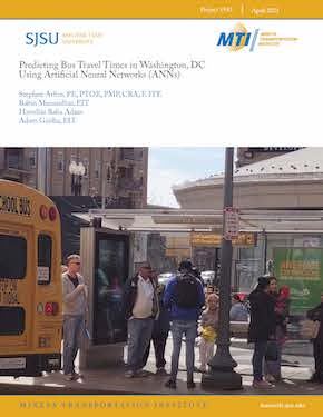 Predicting Bus Travel Times in Washington, DC Using Artificial Neural Networks (ANNs)