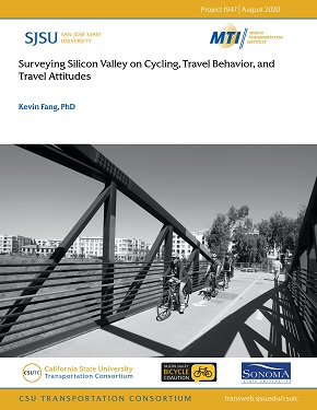 Surveying Silicon Valley on Cycling, Travel Behavior, and Travel Attitudes