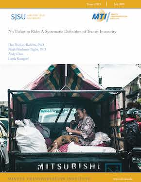 No Ticket to Ride: A Systematic Definition of Transit Insecurity