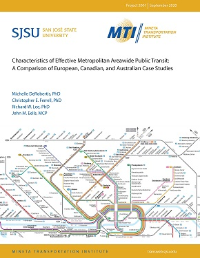 Characteristics of Effective Metropolitan Areawide Public Transit: A Comparison of European, Canadian, and Australian Case Studies