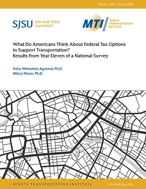 What Do Americans Think About Federal Tax Options to Support Transportation? Results from Year Eleven of a National Survey