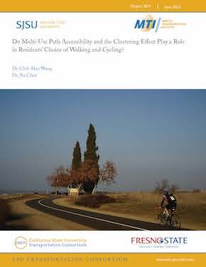 Do Multi-Use Path Accessibility and the Clustering Effect Play a Role in Residents' Choice of Walking and Cycling?