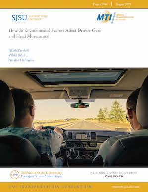 How do Environmental Factors Affect Drivers' Gaze and Head Movements?