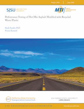 Performance Testing of Hot Mix Asphalt Modified with Recycled Waste Plastic