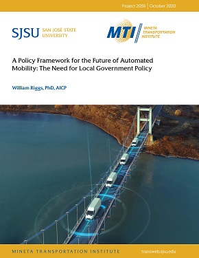 A Policy Framework for the Future of Automated Mobility: The Need for Local Government Policy