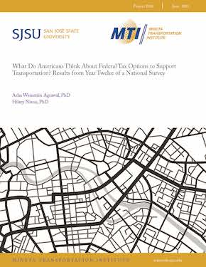 What Do Americans Think About Federal Tax Options to Support Transportation? Results from Year Twelve of a National Survey