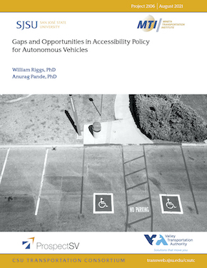 Gaps and Opportunities in Accessibility Policy for Autonomous Vehicles