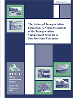 The Future of Transportation Education: A Needs Assessment of the Transportation Management Program at San José State University