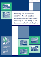 Verifying the Accuracy of Land Use Models Used in Transportation and Air Quality Planning: A Case Study in the Sacramento, CA Region