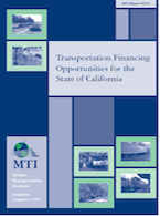 Transportation Financing Opportunities for the State of California