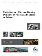 The Influence of Service Planning Decisions on Rail Transit Success or Failure