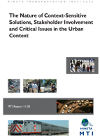 The Nature of Context-Sensitive Solutions, Stakeholder Involvement and Critical Issues in the Urban Context