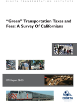 """Green"" Transportation Taxes and Fees: A Survey of Californians"