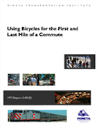 Using Bicycles for the First and Last Mile of a Commute September 2009