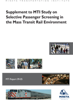 Supplement to MTI Study on Selective Passenger Screening in the Mass Transit Rail Environment