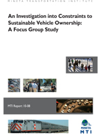 An Investigation into Constraints to Sustainable Vehicle Ownership: A Focus Group Study