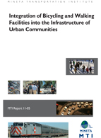 Integration of Bicycling and Walking Facilities into the Infrastructure of Urban Communities