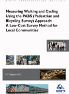 Measuring Walking and Cycling Using the PABS (Pedestrian and Bicycling Survey) Approach: A Low-Cost Survey Method for Local Communities