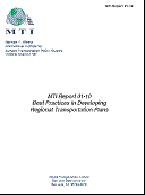 Best Practices in Developing Regional Transportation Plans