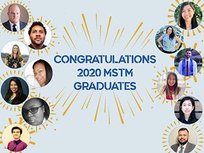 Congratulations 2020 MSTM Graduates
