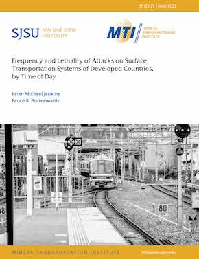 Frequency and Lethality of Attacks on Surface Transportation Systems of Developed Countries, by Time of Day