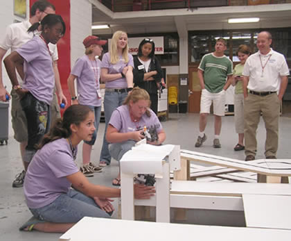 Summer camps at UDM are popular with high school students.