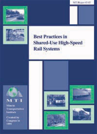 Best Practices in Shared-Use High-Speed Rail Systems