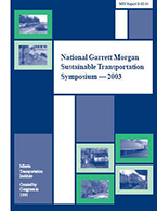 Third National Garrett Morgan Sustainable Transportation Symposium